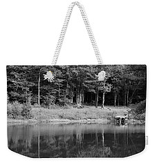Weekender Tote Bag featuring the photograph Ye Old Swimming Hole by Rick Morgan