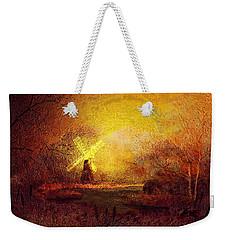Ye Olde Mill Weekender Tote Bag
