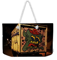Weekender Tote Bag featuring the photograph Yea, Another Night Out On The Town by Mr Photojimsf