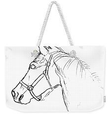Yearling White Weekender Tote Bag