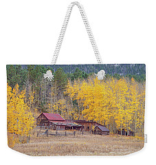Yearning For The Tranquility Of A Rustic Milieu  Weekender Tote Bag