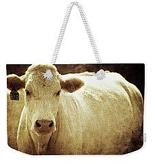 Weekender Tote Bag featuring the photograph Yeg 3110 by Trish Mistric