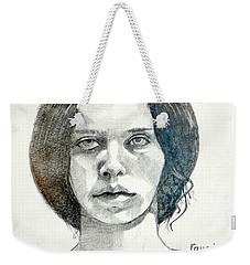 Yelena Weekender Tote Bag by Ray Agius