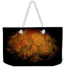Yellow 3567 Signed Weekender Tote Bag