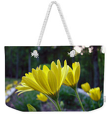 Yellow African Daisy Weekender Tote Bag