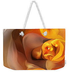 Yellow And Gold Abstract 050712 Weekender Tote Bag