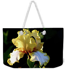 Yellow And White Irises 6681 H_2 Weekender Tote Bag