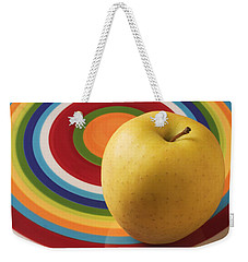Yellow Apple  Weekender Tote Bag
