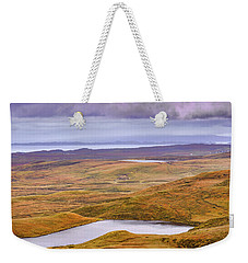 Weekender Tote Bag featuring the photograph Yellow Autumn #g8 by Leif Sohlman