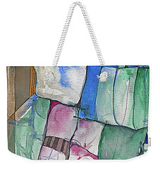 Yellow Awning Weekender Tote Bag by Sandra Church