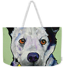 Yellow Ball Weekender Tote Bag
