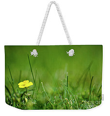 Weekender Tote Bag featuring the photograph Yellow Beauty by Kennerth and Birgitta Kullman