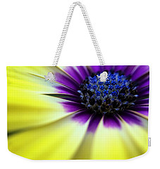 Yellow Beauty With A Hint Of Blue And Purple Weekender Tote Bag by Eduard Moldoveanu