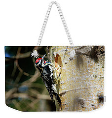 Yellow-bellied Sapsucker 2 Weekender Tote Bag by Gary Hall