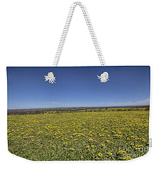 Weekender Tote Bag featuring the photograph Yellow Blanket II by Douglas Barnard