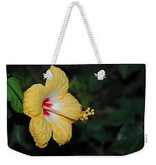 Yellow Bloom Weekender Tote Bag