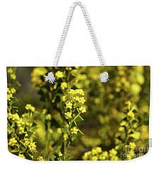 Yellow Blooms Weekender Tote Bag by Cassandra Buckley