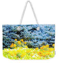 Yellow, Blue, Orange Weekender Tote Bag