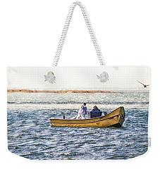 Yellow Boat - Weekender Tote Bag