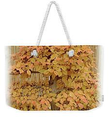 Yellow Bonsai  Weekender Tote Bag