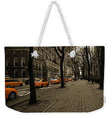 Yellow Cab Weekender Tote Bag