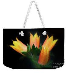 Yellow Cactus Flowers Weekender Tote Bag