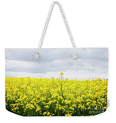 Weekender Tote Bag featuring the photograph Yellow Canopies by Ivy Ho