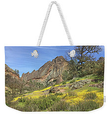 Weekender Tote Bag featuring the photograph Yellow Carpet by Art Block Collections