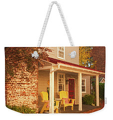 Yellow Chairs Weekender Tote Bag