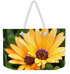Yellow Colored Petals Weekender Tote Bag