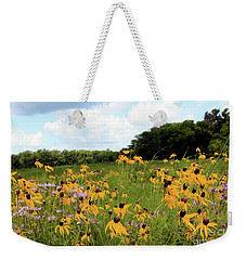 Yellow Cone Flowers Weekender Tote Bag