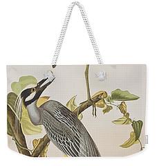 Yellow Crowned Heron Weekender Tote Bag