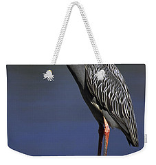 Weekender Tote Bag featuring the photograph Yellow-crowned Night Heron by Sally Weigand
