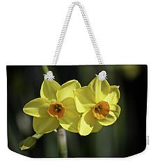 Yellow Daffodils 2 Weekender Tote Bag