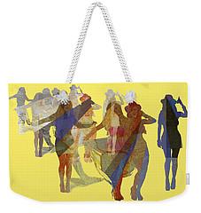 Yellow Dance Weekender Tote Bag