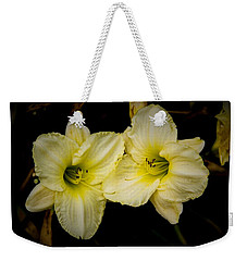 Yellow Day Lilies Weekender Tote Bag