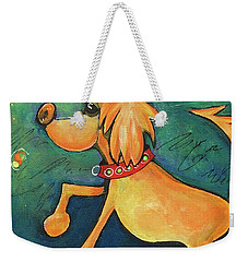 Yellow Dog Weekender Tote Bag