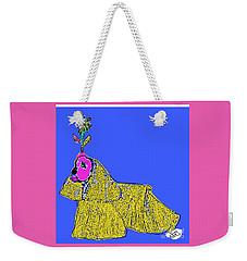 Yellow Dog Weekender Tote Bag