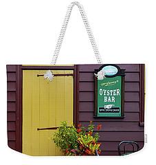Yellow Door In Annapolis Weekender Tote Bag