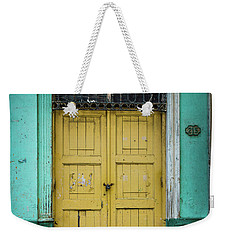 Yellow Doors Cuba Weekender Tote Bag