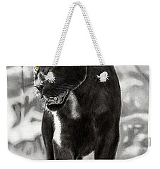 Yellow Eyes Weekender Tote Bag