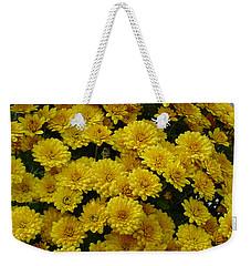 Yellow Fall Weekender Tote Bag