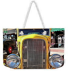Yellow Fever Weekender Tote Bag by Jimmy Ostgard