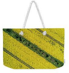 Yellow Fileds Patterns Weekender Tote Bag