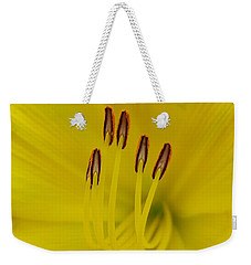 Yellow Flower Beauty Weekender Tote Bag