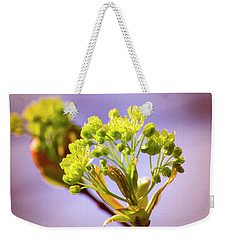Yellow Flower Close Up Weekender Tote Bag