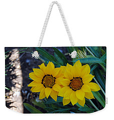 Gazania Rigens - Treasure Flower Weekender Tote Bag