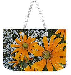 Yellow Flowers Zoom Weekender Tote Bag