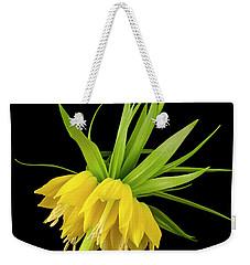 Yellow Fritillaria Imperialis Weekender Tote Bag