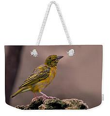Yellow-green Vireo Weekender Tote Bag